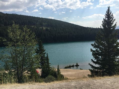 Visiting Two Jack Lake In Banff National Park | Ambition Earth