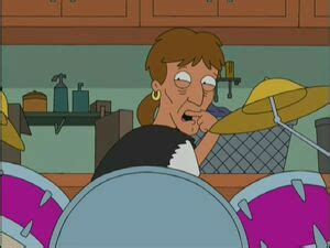 Jerry the Drummer - American Dad! Wiki - Roger, Steve, Stan