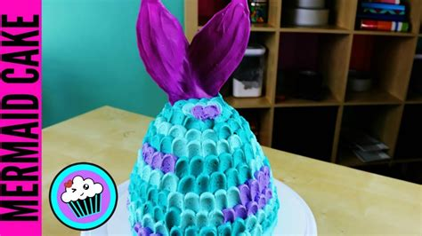 EASY Mermaid Tail Cake | Pinch of Luck - YouTube